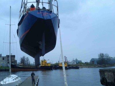 Endlich wieder Wasser unter dem Kiel