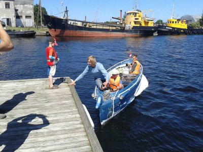 Vetras Putns - ein 60 Jahre altes Amphibienfahrzeug von Baiks Boats