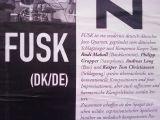 FUSK, Koeppen, Hanse, Mussorgsky, Sibylla Schwarz