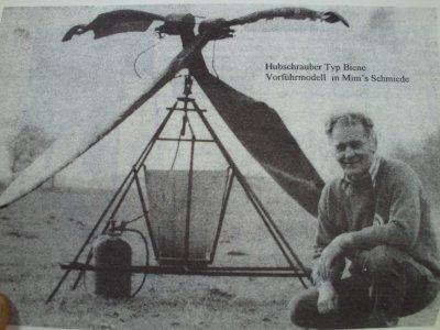 Helgoland: Hans Werding: Maschinenbaumeister, Erfinder, Visionär, Forscher