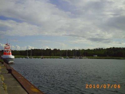 Warnemünde - Nothafen Darsser Ort