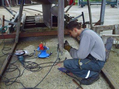 Lexfaehr - Reparatur und Gewitter