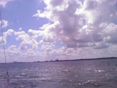 Entspanntes Segeln von Hiddensee zurück nach Stralsund