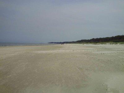 Törnbericht: 55 Seemeilen an der polnischen Dünenküste lang - und was das mit dem Bauch der Mutter zu tun hat - von  Darwolo nach Leba, 2. Teil