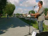 Klaipeda. Nach 6 Wochen wolkenlosen Himmel jetzt Schlechtwetter