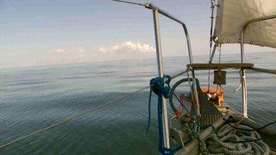 Törnbericht: Nach Montu auf der Insel Saaremaa - Montu bekommt den rostigen Anker