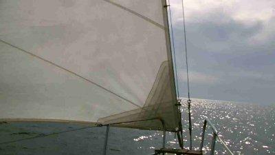 Törnbericht: Entspanntes Segeln nach Mersrags