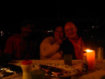 MISS SOPHIE hängt in der Luft und ich verbringe eine feuchtfröhliche Nacht mit Alexander, Helena, Olga und Janek