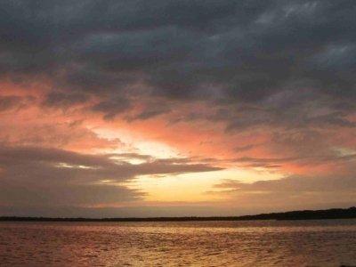 Sturm über Koiguste auf der Insel Saaremaa