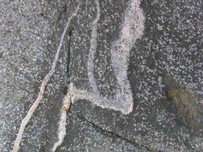 Phantastische Felsmalereien auf Stuvuholmen