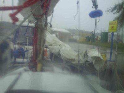 Unwetter in Dziwnow
