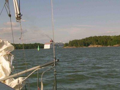Durch den äusseren Schärengürtel nach Turku