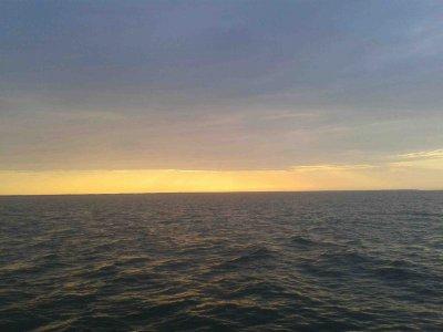 Endlich unterwegs: von der Insel Ruhnu nach Virtsu