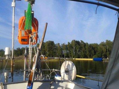 Vor Anker in Finnland