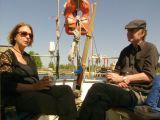 Besuch aus Bremen an Bord