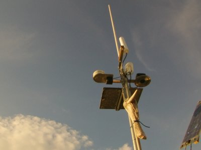 der neue alte Antennenmast