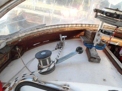 Jetzt sind die Fallen im Cockpit