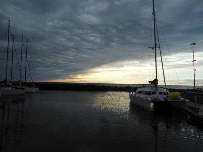 Ruhnu - Regatta unter verschaerften Bedingungen
