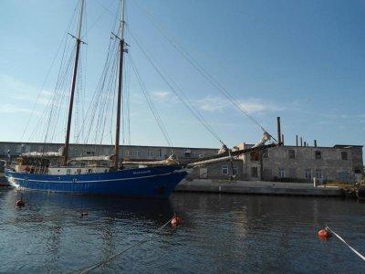 'Stortemelk' in Mersrags und am Himmel keine Aenderung