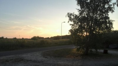 Bruellende Hitze - aber traumhafte Abende hier auf Ruhnu