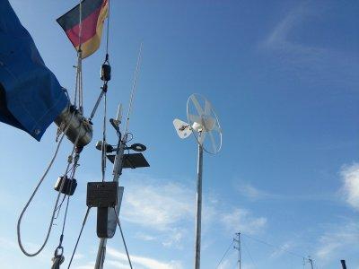 Energie auch bei Schlechtwetter: Windenergie