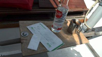 Krankengeschichte - zweiter Teil,  die Wodka-Reinigung