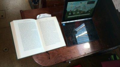 neuer Kartentisch - Schreibtisch