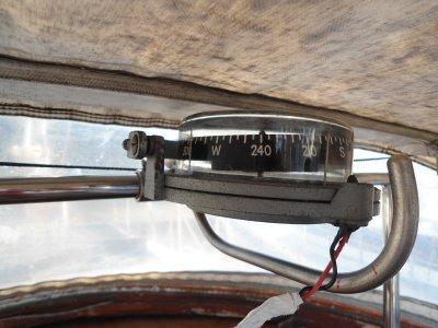 Neue Halterung für meinen Sestrel-Kompass