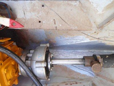 Bei Stahlschiffen das alte Problem - Rost
