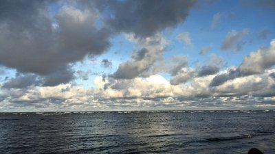 Engure hat einen schönen Zugang zum Meer