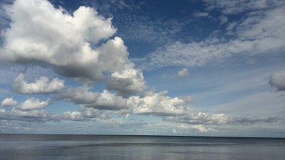 Eine Wanderung an der Küste lang nach Norden